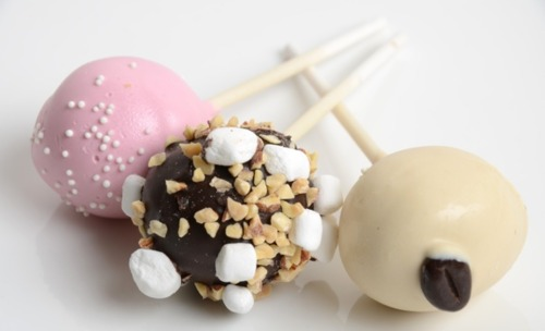 Lemon Cake Pops Bakerella