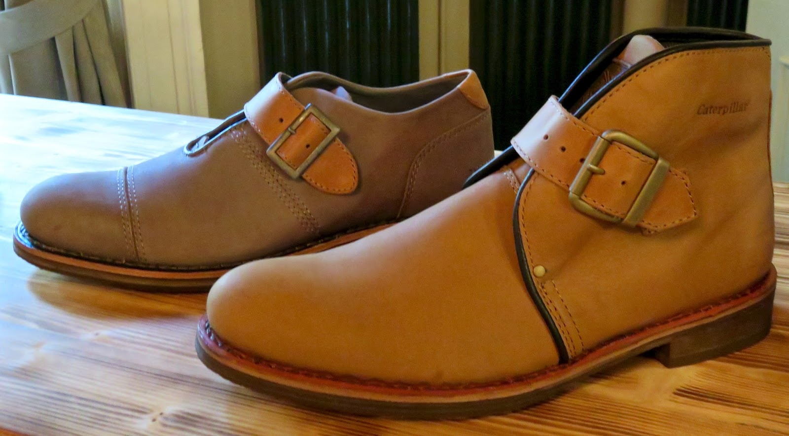 sneaker style-with monk strap...the lower cut HALSEY and HAVERHILL-boast  Goodyear Welt Construction, full grain leather uppers and breathable  microfiber ...