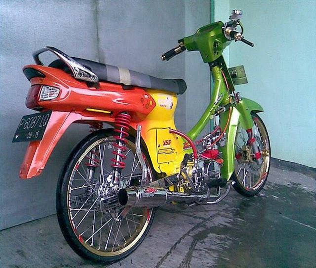 Foto Modifikasi Motor Honda Astrea Terbaru 2015
