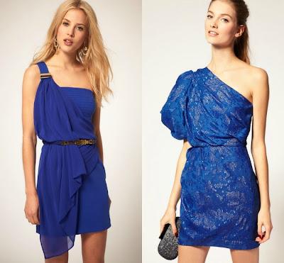 vestidos asimetricos de moda