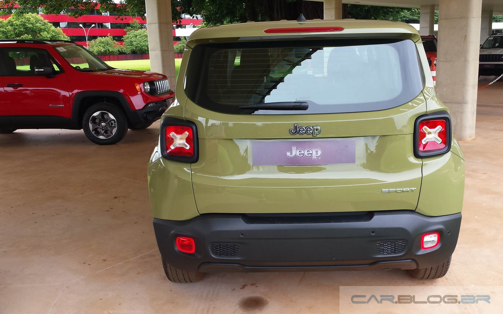 Jeep Renegade 1.8 Flex - Manual