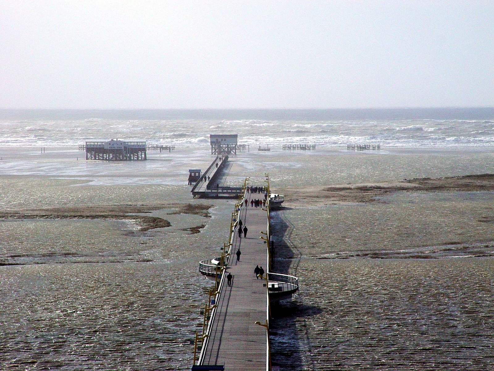 Land unter in St Peter Ording