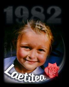 La biographie de Laetitea - 1982