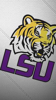 LSU Tigers iphone 5 wallpaper