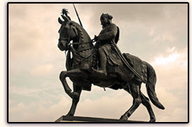 Maharana Pratap Memorial at Moti Magari