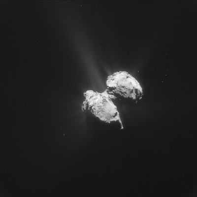 The Rosetta probe is getting surprising results from Comet 67P. Instead of receivng the predicted evidence for deep time, scientists are obtaining evidence of a young solar system.