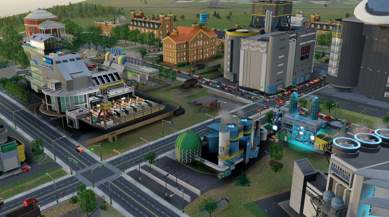 Специализация SimCity: деньги из мусора