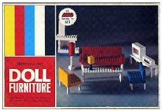 Samsonite Dollhouse Furniture - year 1956