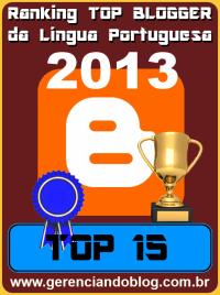 Top Blogger Gerenciando Blog