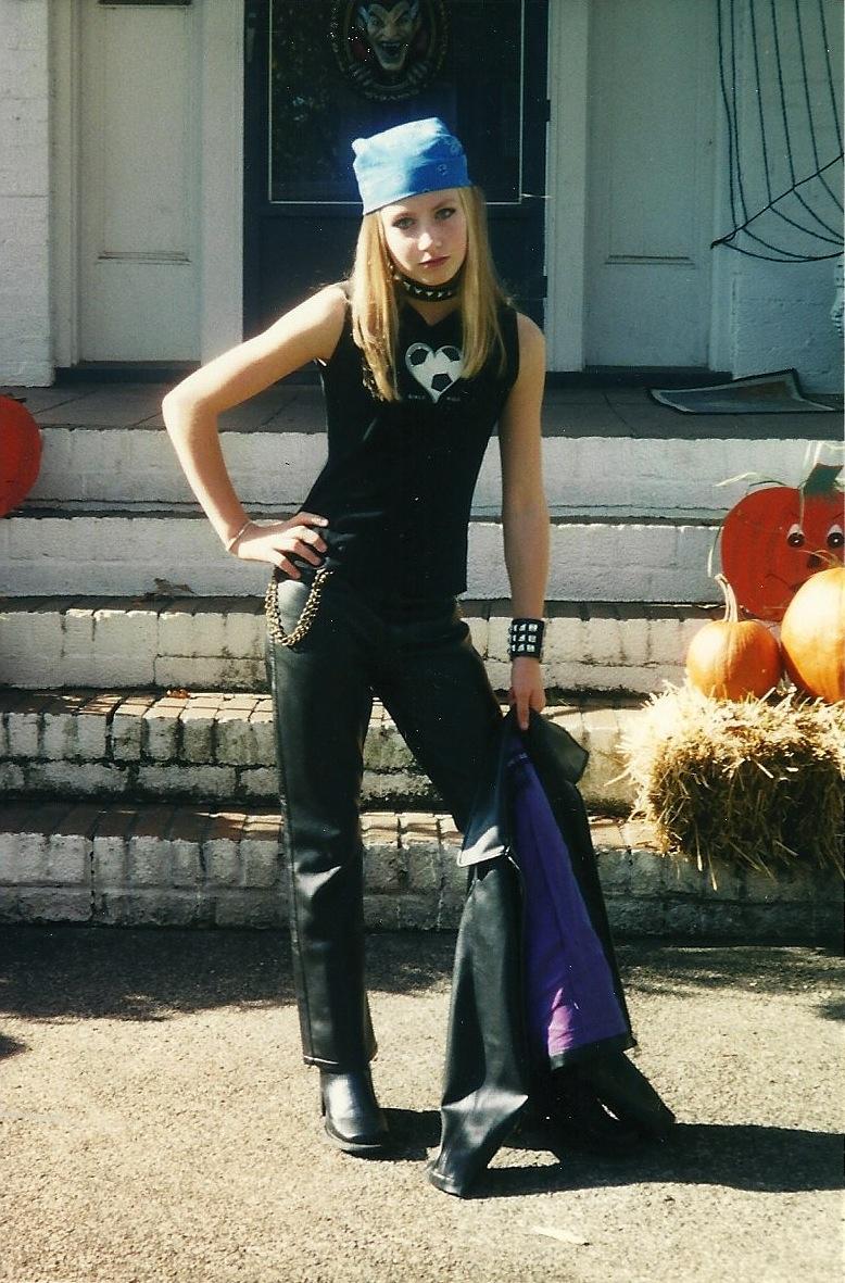 Halloween Costumes Biker Girl