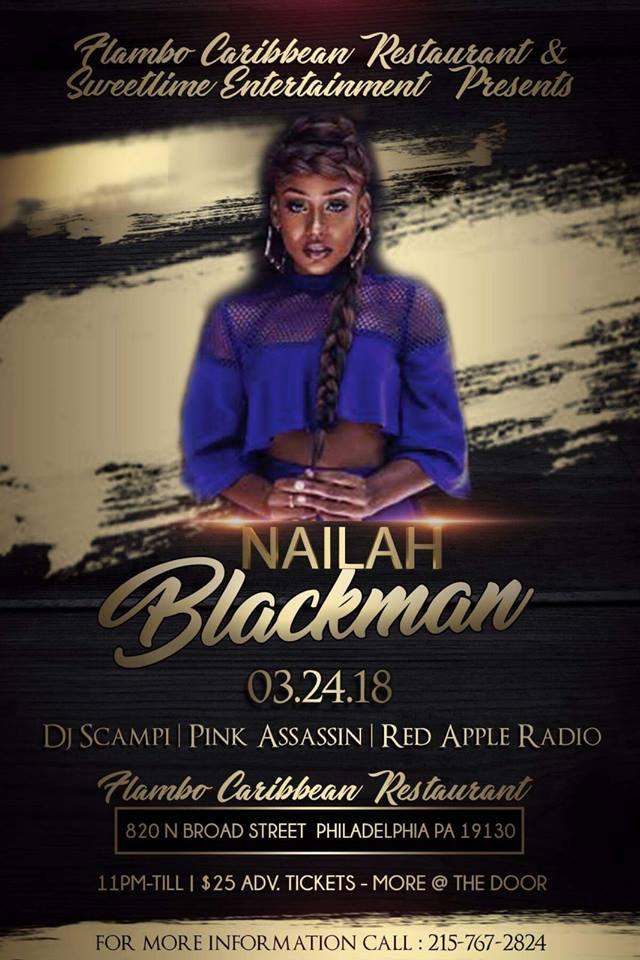 Nailah Blackman in Philly