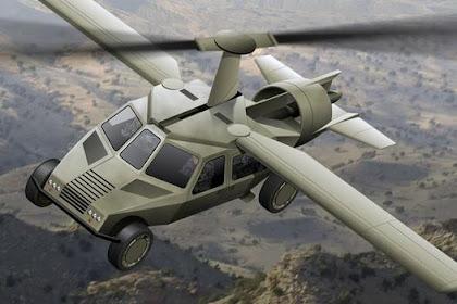 Gambar Mobil Terbang Yang Unik Dan Keren