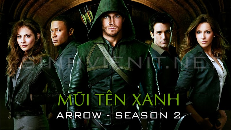 Mui ten xanh 2 - Arrow Season 2 tai PhimSV.Com