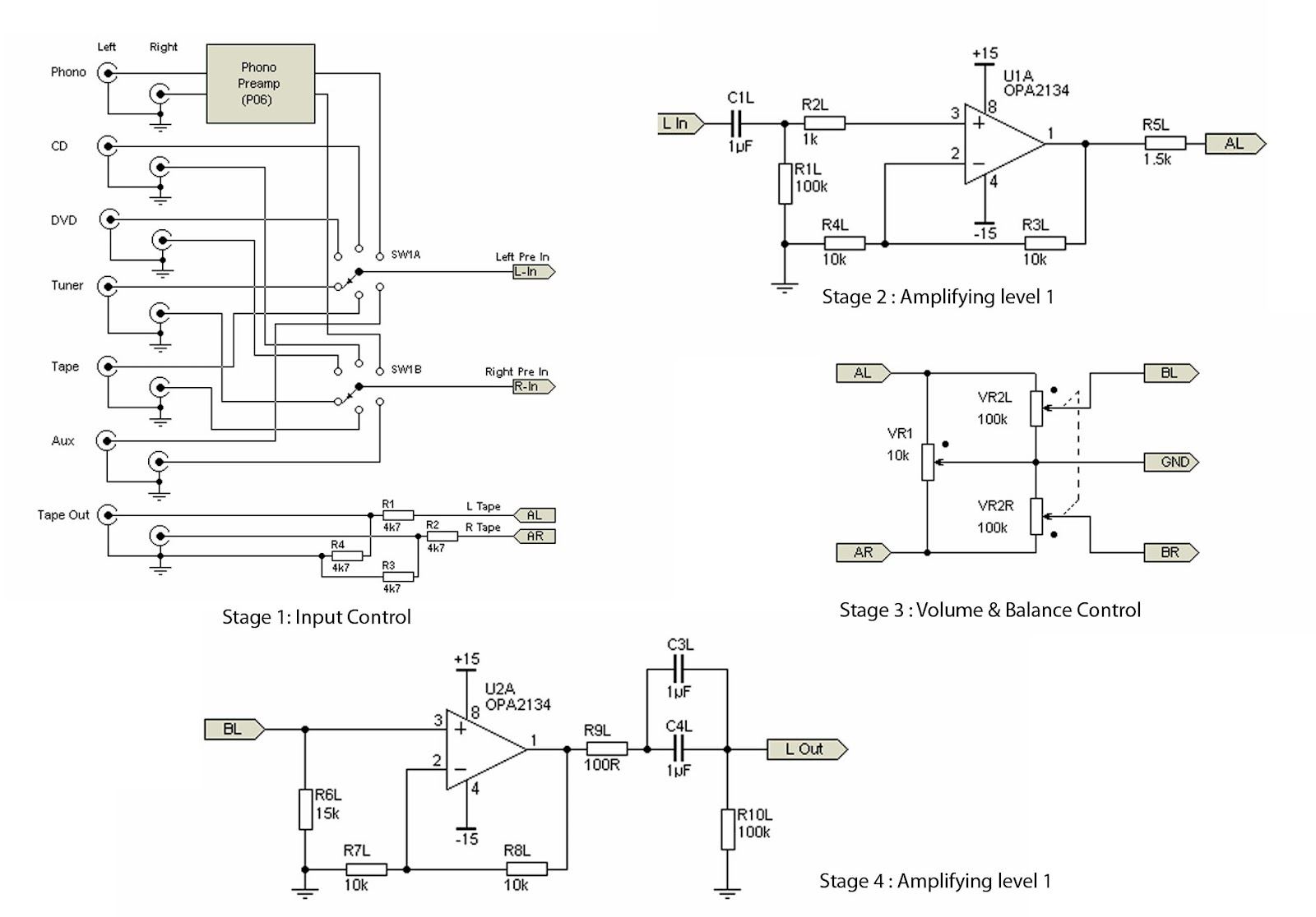 Tuesday March 20 2012 Low Noise Mic Preamp Using Ne5534 Ic Circuit Diagram Hmmmm Yes For Those Who Like Hi Fi Why Should You Use Tone Control That Will Only Damage The Authenticity Of Sound Reproduction