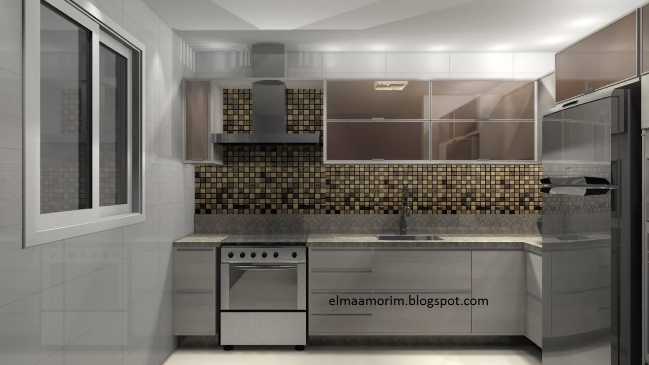 Cozinha Americana Planejada Moderna Top Cozinha Americana Pequena