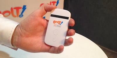 Cara Membeli Layanan Internet 4G LTE Bolt dari Interneux
