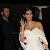 Sonam Kapoor Hot in Unseen White Dress