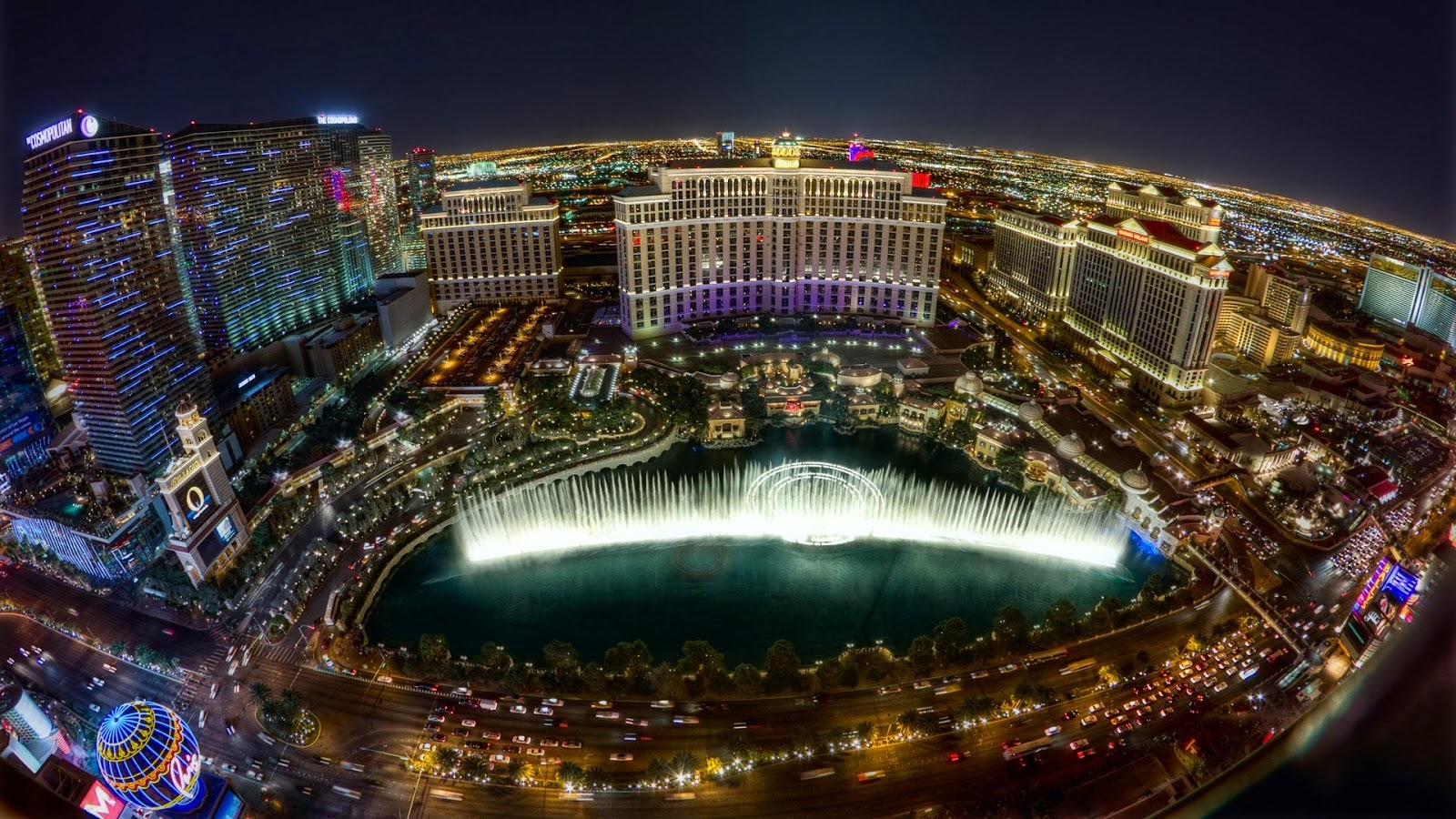 HD WALLPAPERS: Download Las Vegas At Night HD Wallpapers 1080p