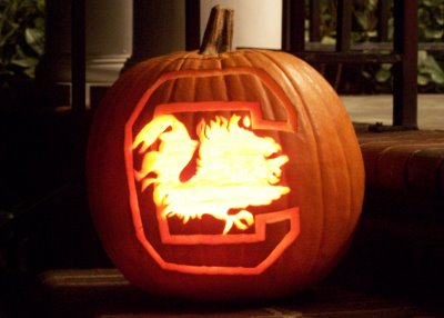 Gamecock Logo Stencil http://www.gamecockgirl.com/2012/10/gamecocks-pumpkin-carving.html