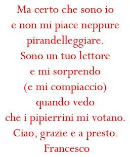 La lettera di Francesco Merlo a PPR