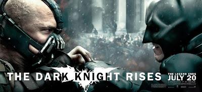 The Dark Knight Rises, banner, Tom Hardy, Christian Bale, Batman, Bane