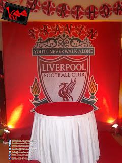 Liverpool Brithday Concept By Vina Canopy & Decor at Kelana Jaya