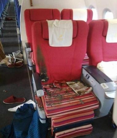 Chuyện lạ về hành khách châm lửa đốt máy bay Trung Quốc