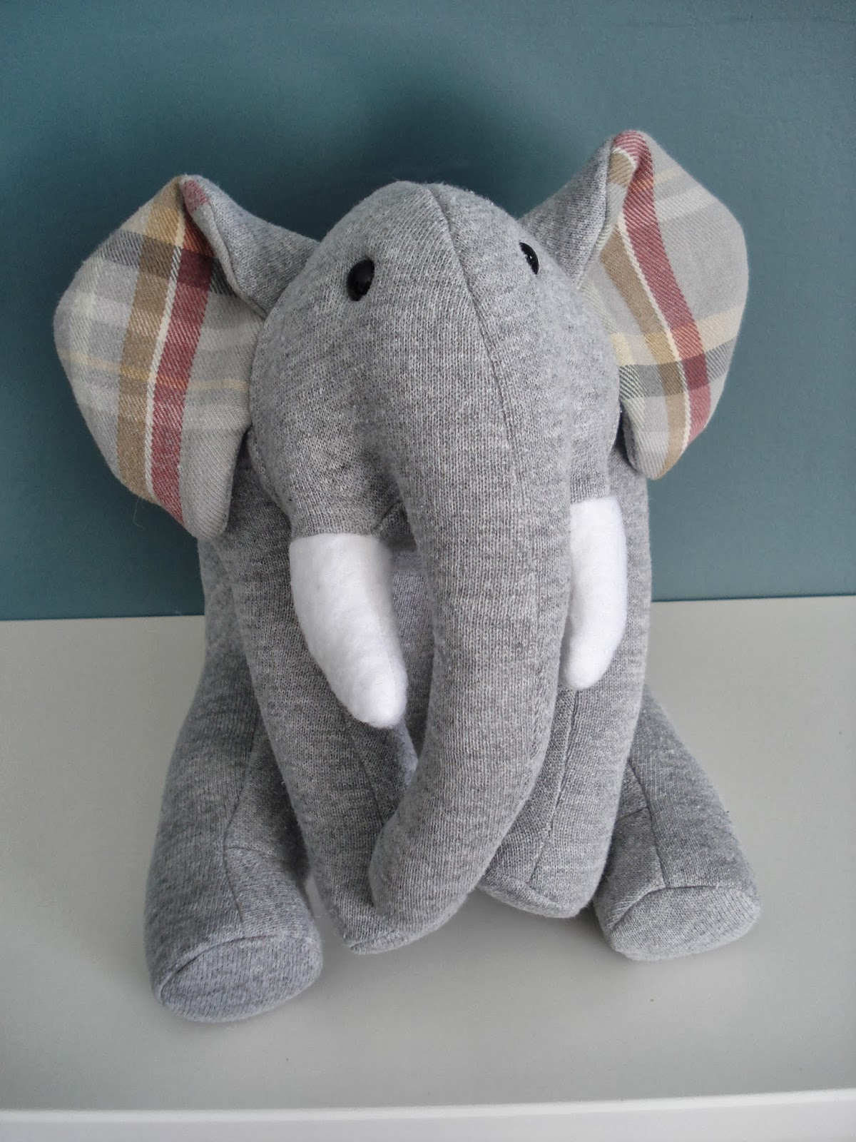 Fleece Menagerie Memory Animals Elephant And Pig Sold