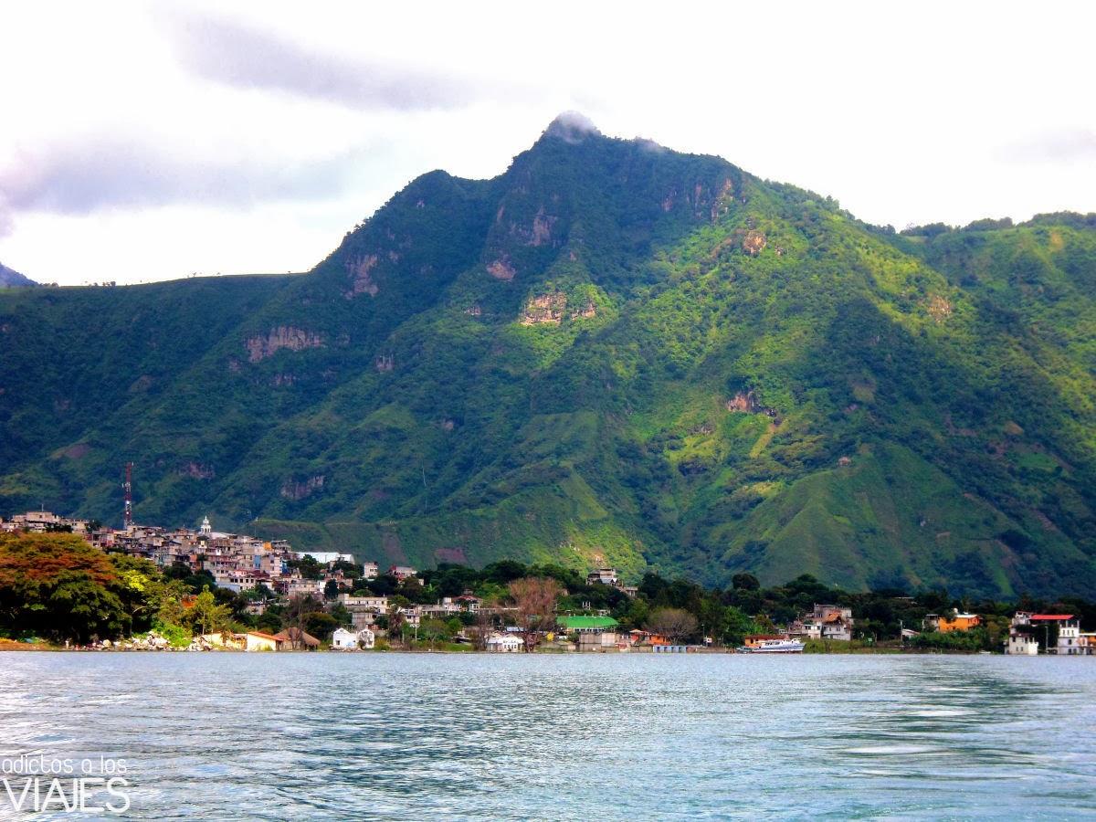 cerro nariz del indio Lago Atitlan, Guatemala