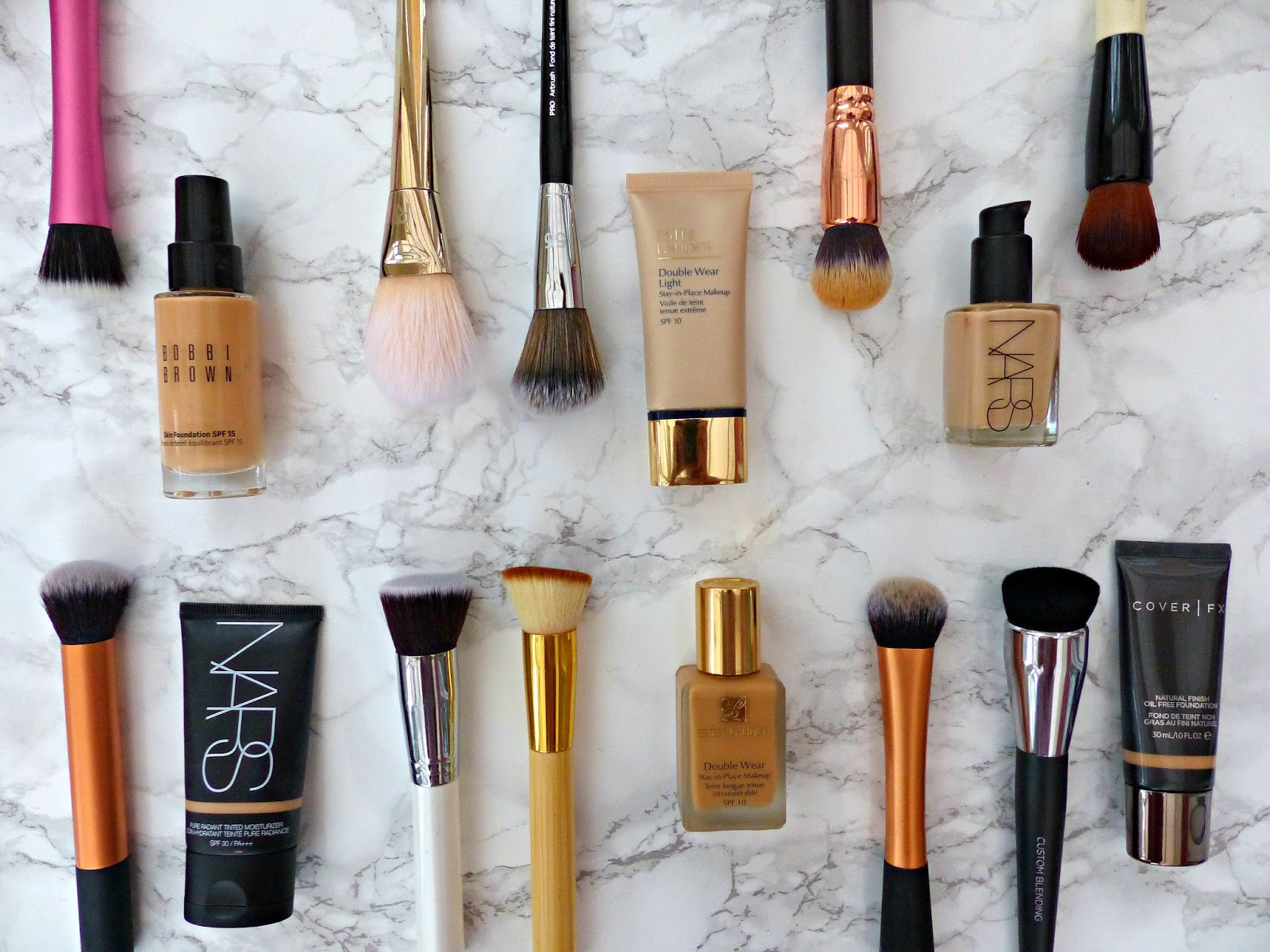 The foundation guide 3 brushes application tips for Different foundations