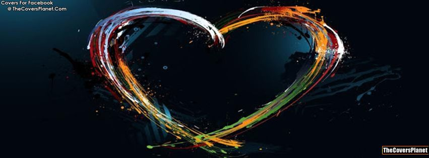 Facebook cover for valentines Day