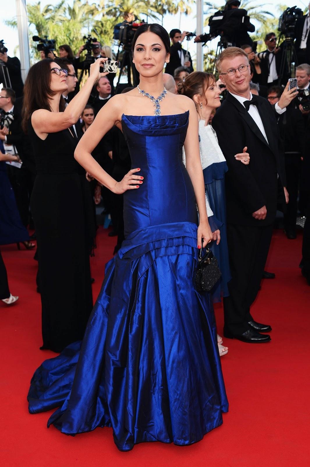 Moran Atias de la mano de BULGARI en Cannes.