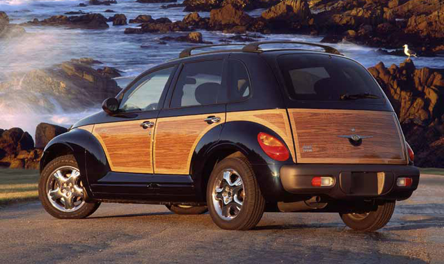 Does a wooden car have more perceived value? Am I meant to gaze enviously  at such vehicles as they pass by and think,