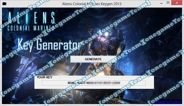 With this Aliens Colonial Marines Keygen you can activate the game for ...