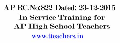In Service Training for AP High School Teachers