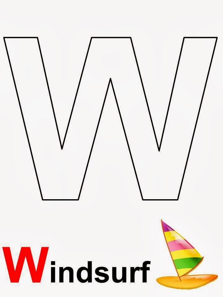 alfabeto letra W