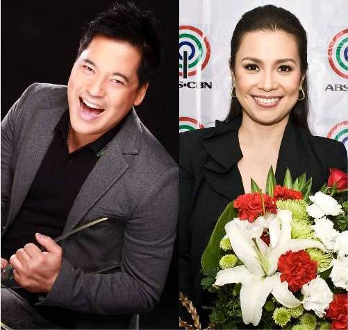 Martin Nievera and Lea Salonga