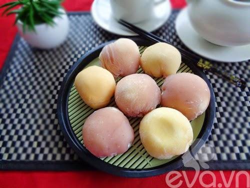 Bánh trung thu kem lạnh Nhật Bản tự làm tại nhà