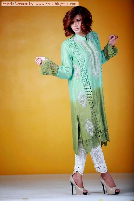 Ayesha Somaya Eid Ul Azha Collection 2014