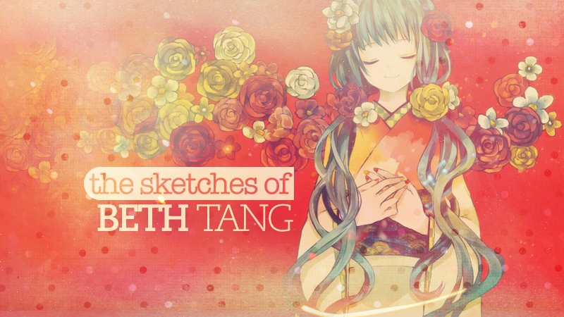 The Art and Sketches of Beth Tang