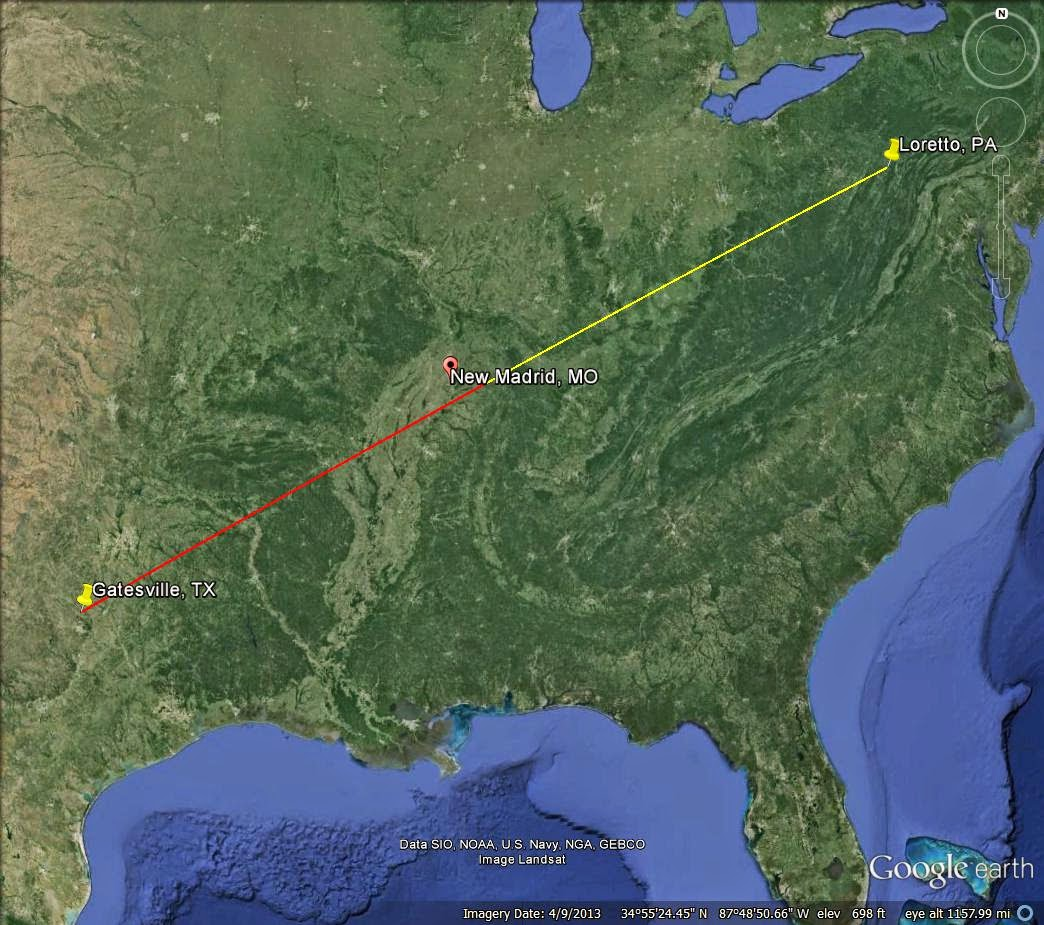 New madrid fault line predictions 2015 - The Center Of The Line Is In Weakley County Tn Interesting Name The Center Point Is Not Too Far From New Madrid Mo Of The Infamous New Madrid Fault