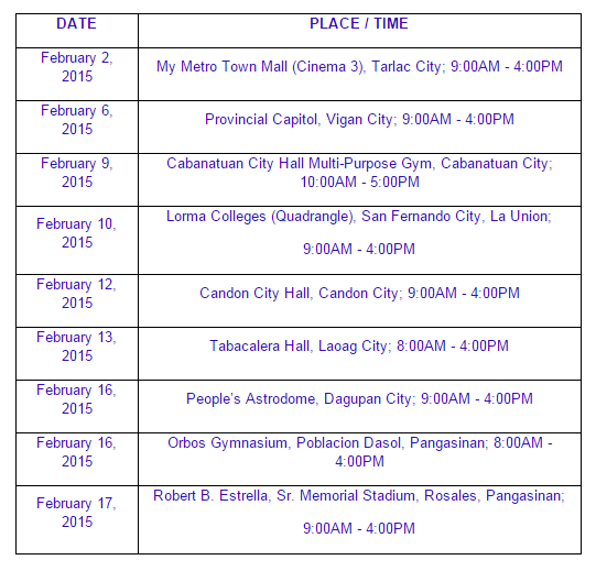 November 2014 NLE passers registration, oathtaking schedule, venue and verification of ratings ...