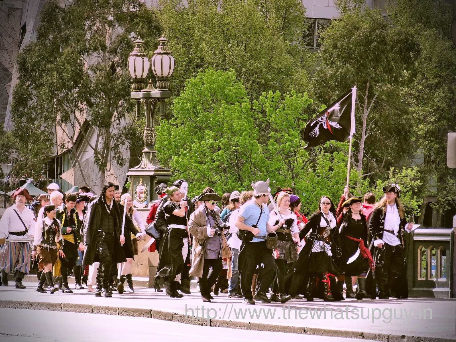 Pirates In Melbourne