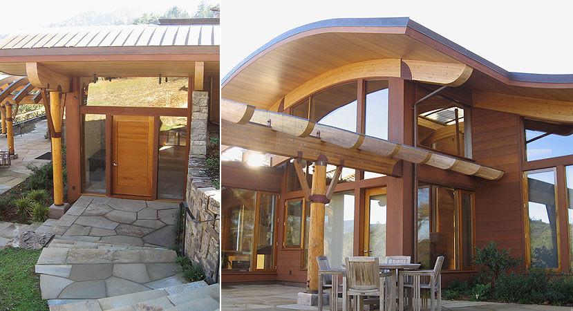 Lamboo architectural structural bamboo lamboo elements for Exterior architectural elements