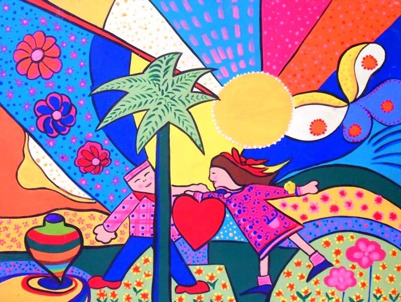 Cuadros pinturas oleos cuadros infantiles modernos con for Cuadros infantiles al oleo