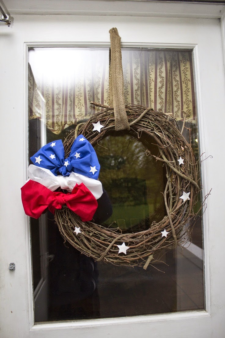 DIY Memorial Day Wreath