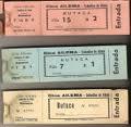 Las entradas de cine, unas entradas extrañas e ilógicas