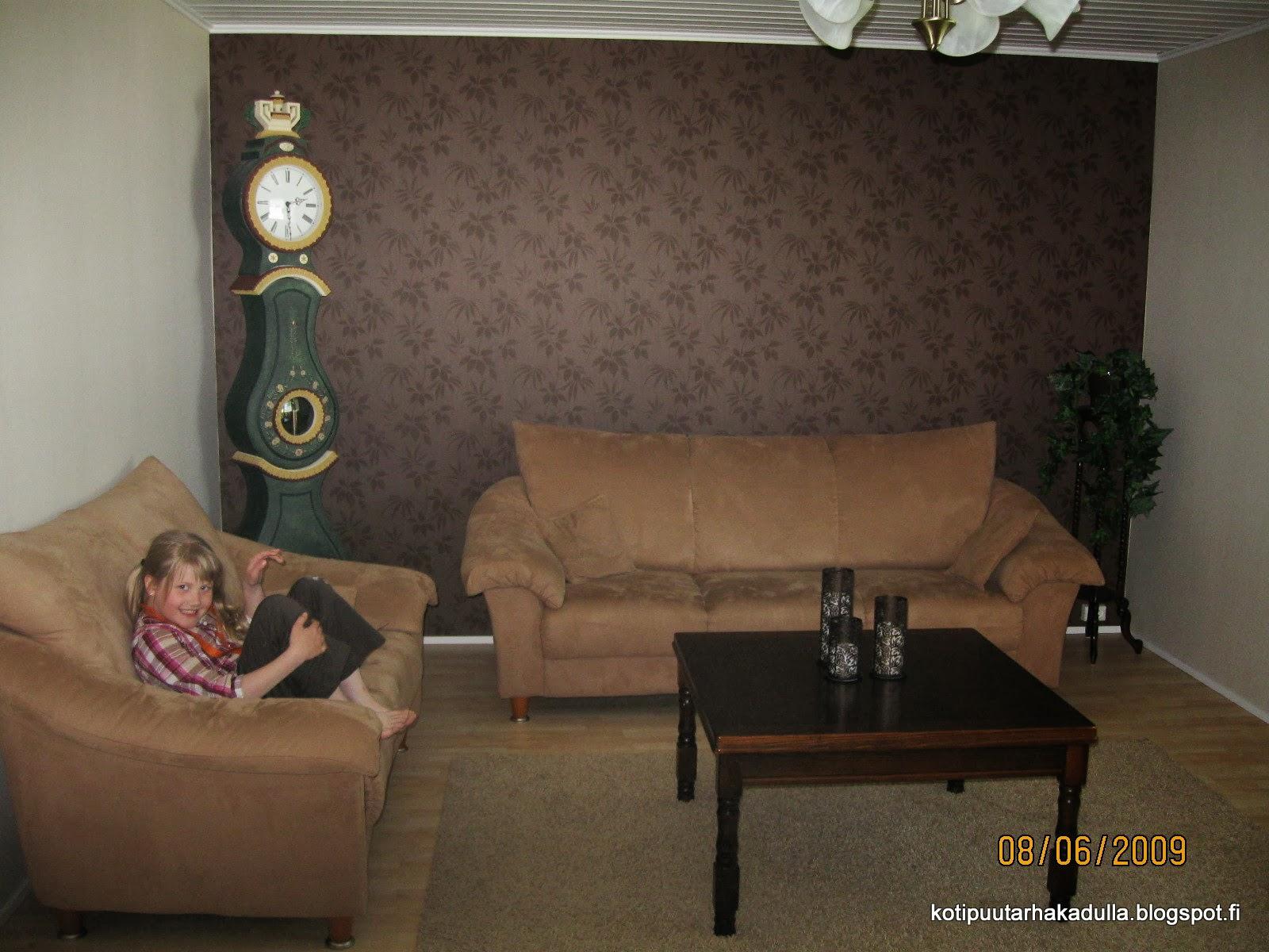 Olohuoneen remontti