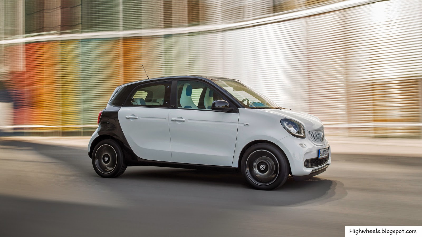 2015 smart forfour high wheels. Black Bedroom Furniture Sets. Home Design Ideas