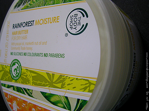TBS Rainforest Moisture Hair Butter Dry Hair